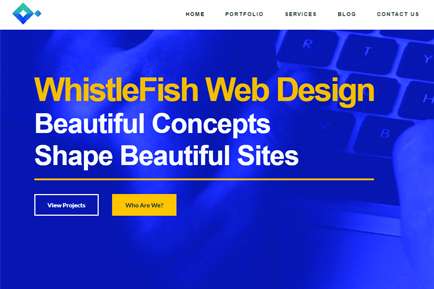 A new look for Whistlefish