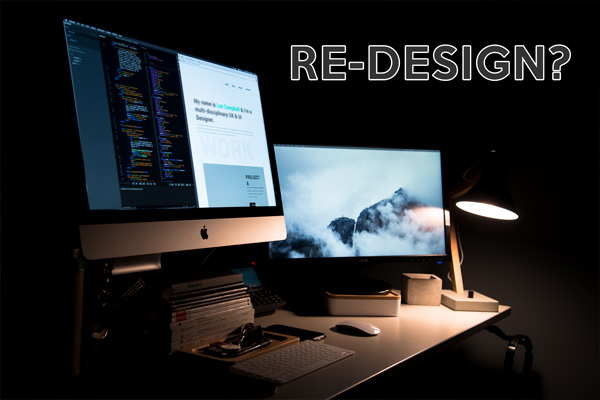 10 Ways to tell if your website needs a re-design